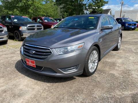 2013 Ford Taurus for sale at AutoMile Motors in Saco ME