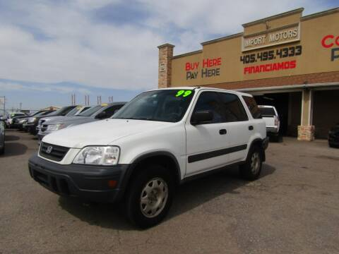 1999 Honda CR-V for sale at Import Motors in Bethany OK