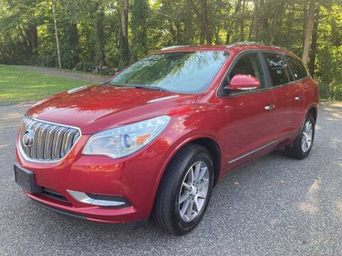 2013 Buick Enclave for sale at Lou Rivers Used Cars in Palmer MA