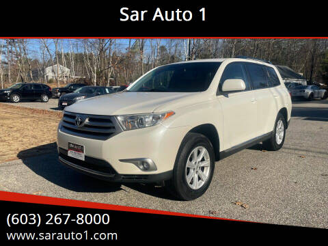 2012 Toyota Highlander for sale at Sar Auto 1 in Belmont NH