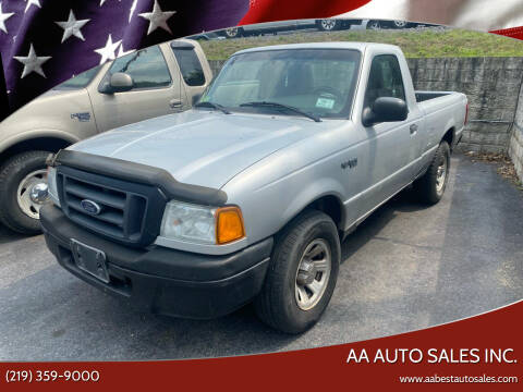 2005 Ford Ranger for sale at AA Auto Sales Inc. in Gary IN