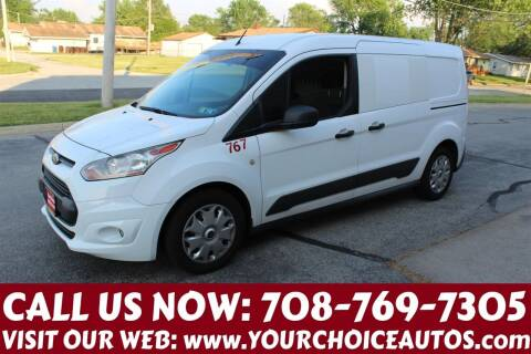 2016 Ford Transit Connect Cargo for sale at Your Choice Autos in Posen IL