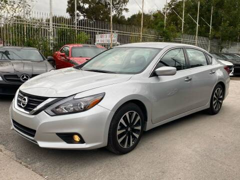 2018 Nissan Altima for sale at Texas Luxury Auto in Houston TX