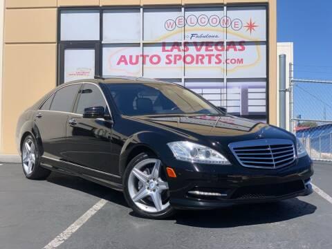 2010 Mercedes-Benz S-Class for sale at Las Vegas Auto Sports in Las Vegas NV