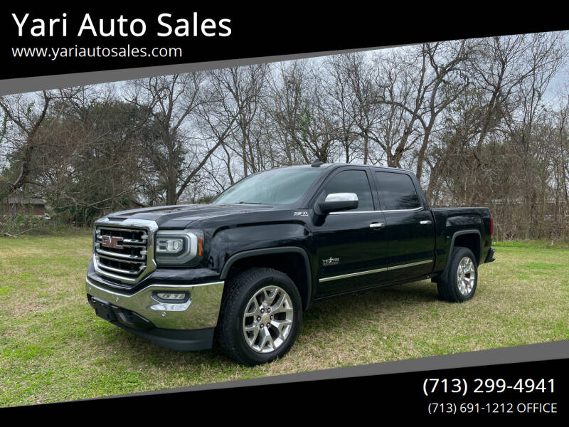 2016 GMC Sierra 1500 for sale at Yari Auto Sales in Houston TX