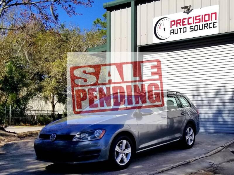 2015 Volkswagen Golf SportWagen for sale at Precision Auto Source in Jacksonville FL