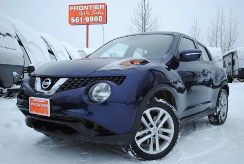 2015 Nissan JUKE for sale at Frontier Auto & RV Sales in Anchorage AK