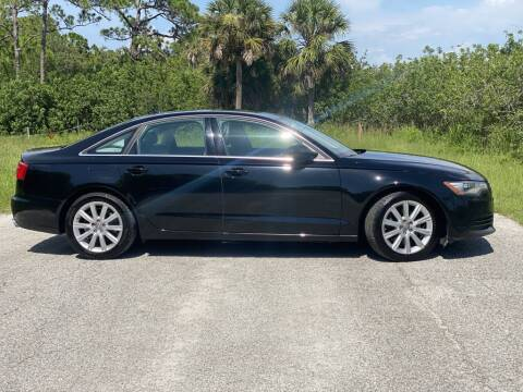 2014 Audi A6 for sale at D & D Used Cars in New Port Richey FL