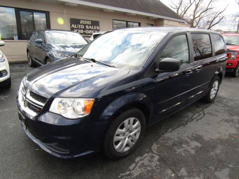 2016 Dodge Grand Caravan for sale at 2010 Auto Sales in Troy NY