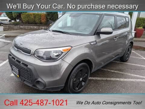 2016 Kia Soul for sale at Platinum Autos in Woodinville WA