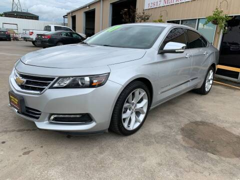 2017 Chevrolet Impala for sale at Market Street Auto Sales INC in Houston TX