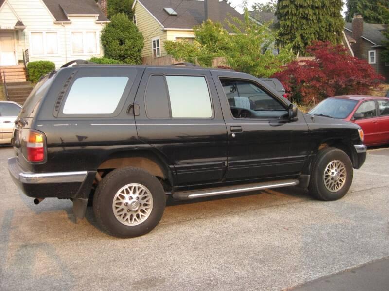 1997 Nissan Pathfinder for sale at UNIVERSITY MOTORSPORTS in Seattle WA