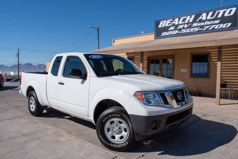 2018 Nissan Frontier for sale at Beach Auto and RV Sales in Lake Havasu City AZ