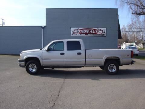 2005 Chevrolet Silverado 2500HD for sale at Motion Autos in Longview WA