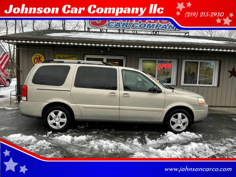 2008 Chevrolet Uplander for sale at Johnson Car Company llc in Crown Point IN