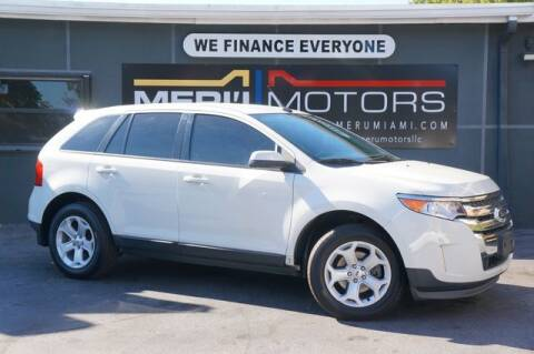 2013 Ford Edge for sale at Meru Motors in Hollywood FL