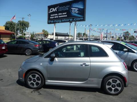 2017 FIAT 500e for sale at CENTURY MOTORS - Fresno in Fresno CA