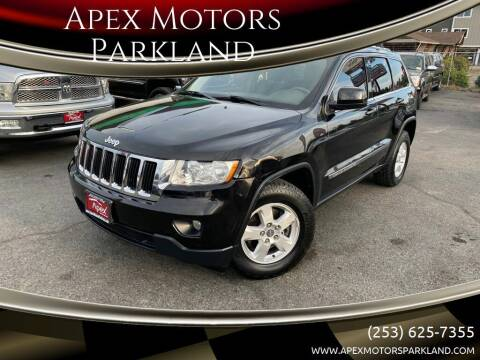2012 Jeep Grand Cherokee for sale at Apex Motors Parkland in Tacoma WA