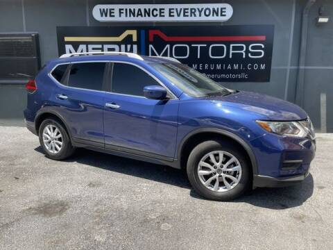 2020 Nissan Rogue for sale at Meru Motors in Hollywood FL