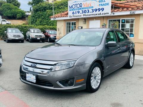 2010 Ford Fusion Hybrid for sale at MotorMax in Lemon Grove CA
