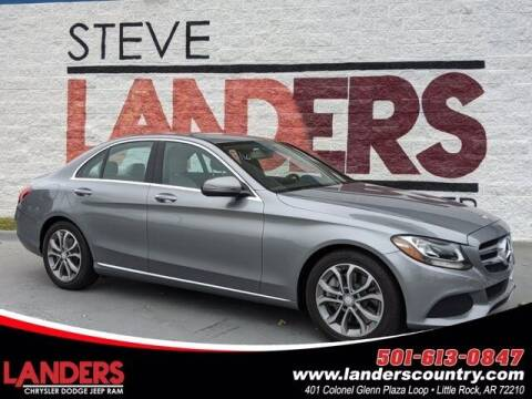 2016 Mercedes-Benz C-Class for sale at The Car Guy powered by Landers CDJR in Little Rock AR