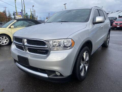 2012 Dodge Durango for sale at Salem Motorsports in Salem OR