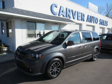 2016 Dodge Grand Caravan for sale at Carver Auto Sales in Saint Paul MN