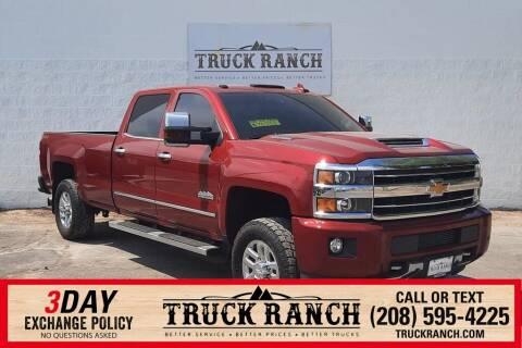 2019 Chevrolet Silverado 3500HD for sale at Truck Ranch in Twin Falls ID
