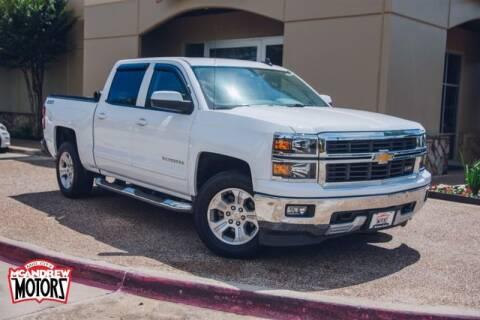 2015 Chevrolet Silverado 1500 for sale at Mcandrew Motors in Arlington TX