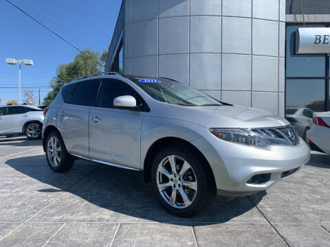 2012 Nissan Murano for sale at Berge Auto in Orem UT