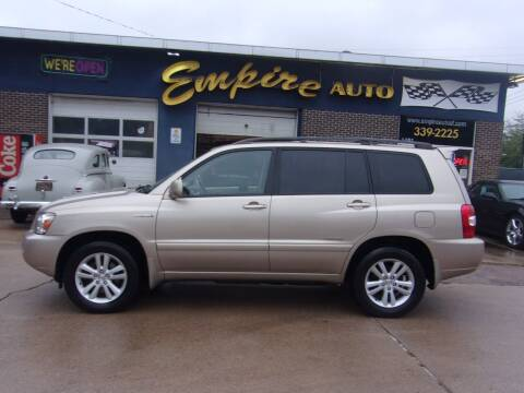 2007 Toyota Highlander Hybrid for sale at Empire Auto Sales in Sioux Falls SD