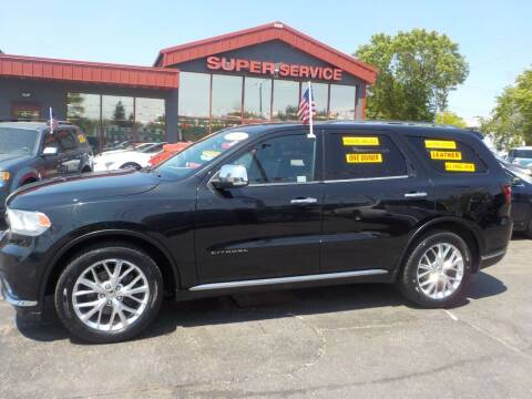 2014 Dodge Durango for sale at Super Service Used Cars in Milwaukee WI