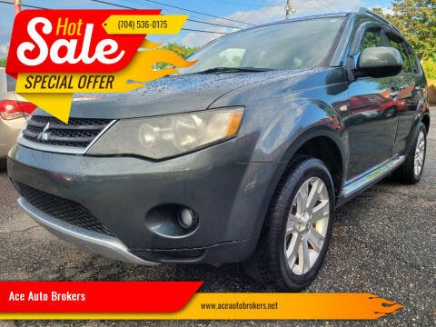2008 Mitsubishi Outlander for sale at Ace Auto Brokers in Charlotte NC
