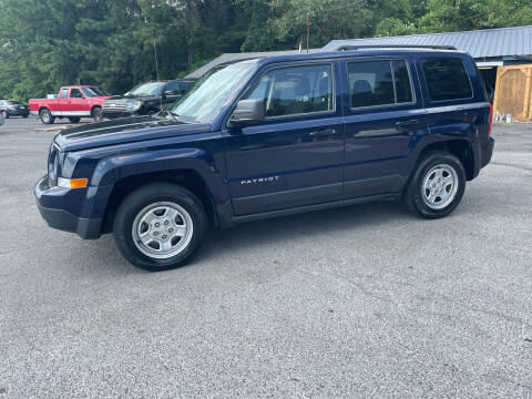2015 Jeep Patriot for sale at Adairsville Auto Mart in Plainville GA