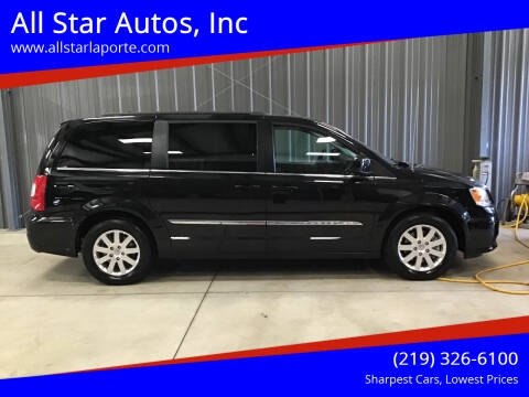 2015 Chrysler Town and Country for sale at All Star Autos, Inc in La Porte IN