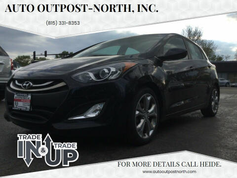 2013 Hyundai Elantra GT for sale at Auto Outpost-North, Inc. in McHenry IL