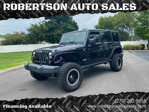 2011 Jeep Wrangler Unlimited for sale at ROBERTSON AUTO SALES in Bowling Green KY