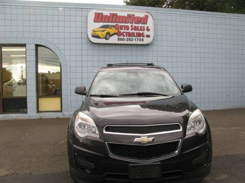 2014 Chevrolet Equinox for sale at Unlimited Auto Sales & Detailing, LLC in Windsor Locks CT