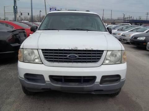 2002 Ford Explorer for sale at Royal Motors - 33 S. Byrne Rd Lot in Toledo OH