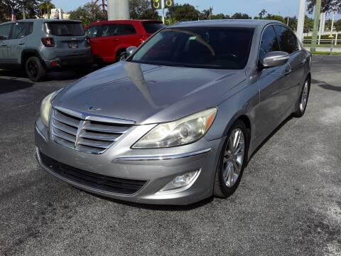 2012 Hyundai Genesis for sale at YOUR BEST DRIVE in Oakland Park FL