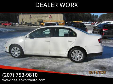 2009 Volkswagen Jetta for sale at DEALER WORX in Auburn ME