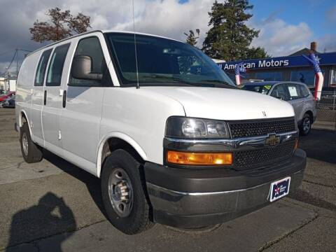2018 Chevrolet Express Cargo for sale at All American Motors in Tacoma WA