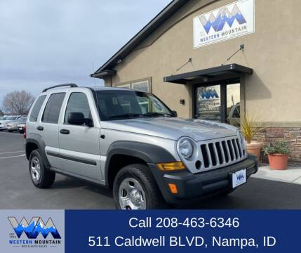 2006 Jeep Liberty for sale at Western Mountain Bus & Auto Sales in Nampa ID