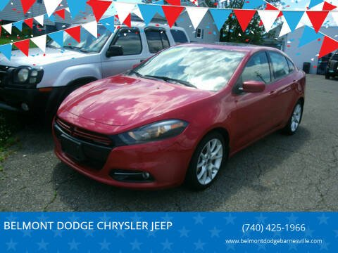 2013 Dodge Dart for sale at BELMONT DODGE CHRYSLER JEEP RAM in Barnesville OH