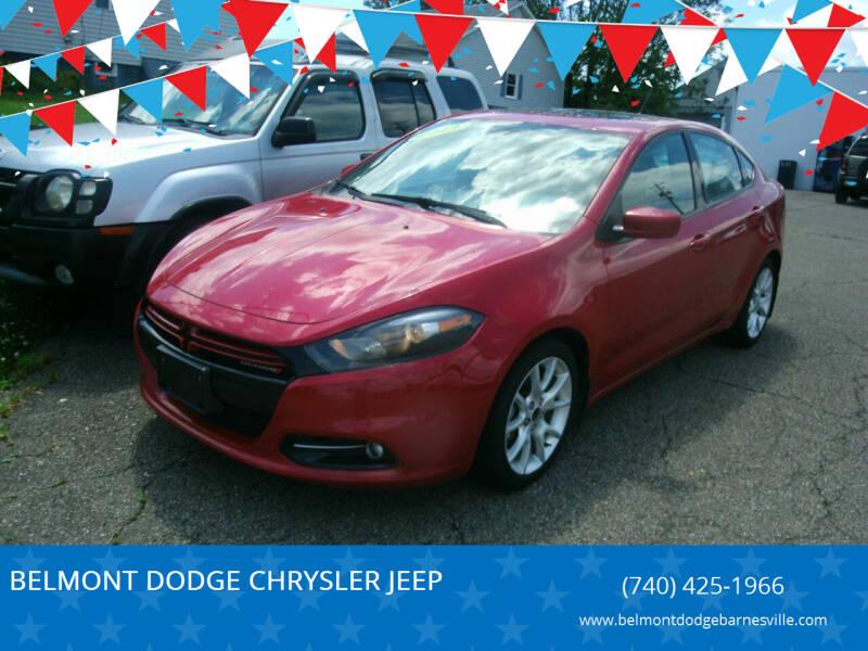 2013 Dodge Dart for sale at BELMONT DODGE CHRYSLER JEEP RAM in Barnesville OH