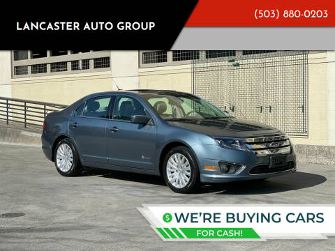 2012 Ford Fusion Hybrid for sale at LANCASTER AUTO GROUP in Portland OR