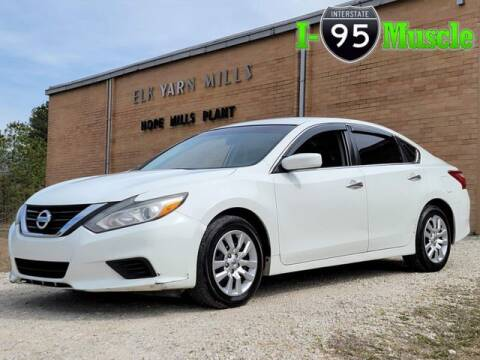 2016 Nissan Altima for sale at I-95 Muscle in Hope Mills NC