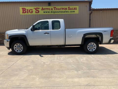 2012 Chevrolet Silverado 3500HD for sale at BIG 'S' AUTO & TRACTOR SALES in Blanchard OK