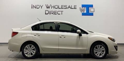 2016 Subaru Impreza for sale at Indy Wholesale Direct in Carmel IN