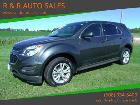 2017 Chevrolet Equinox for sale at R & R AUTO SALES in Juda WI